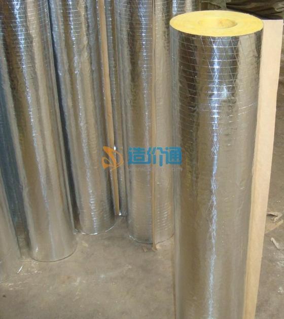 铝箔玻璃棉管图片