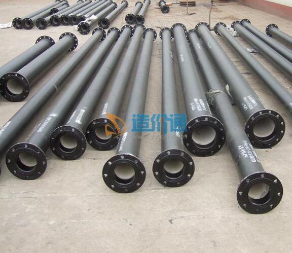 W型卡箍式离心铸铁管(B型)图片