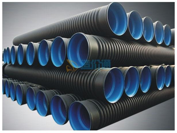 PE硬式透水管图片