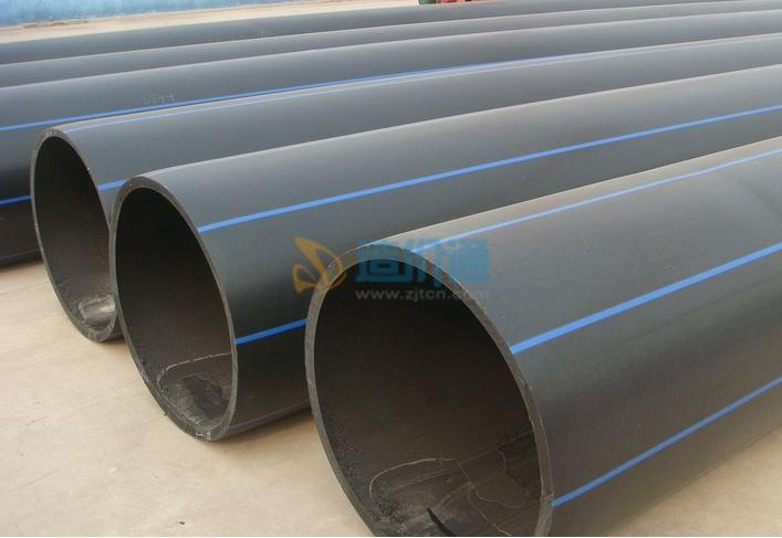 聚乙烯(HDPE)沟槽排水管图片