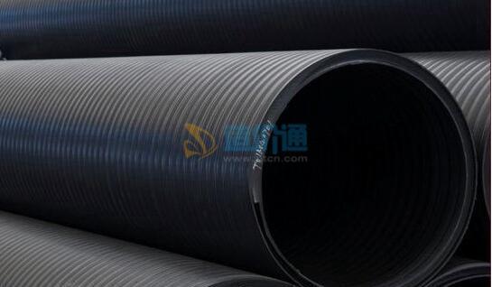 HDPE塑钢复合缠绕管连接件图片