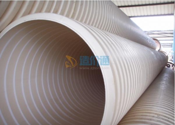 埋地排水PVC-U双壁波纹管图片