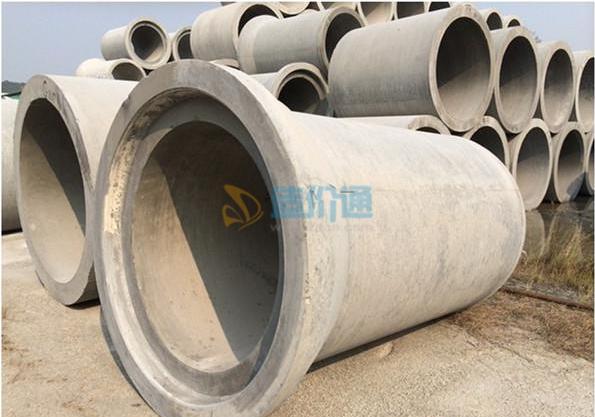 F型钢承口Ⅲ级钢筋混凝土顶管图片