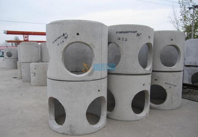 混凝土井筒图片