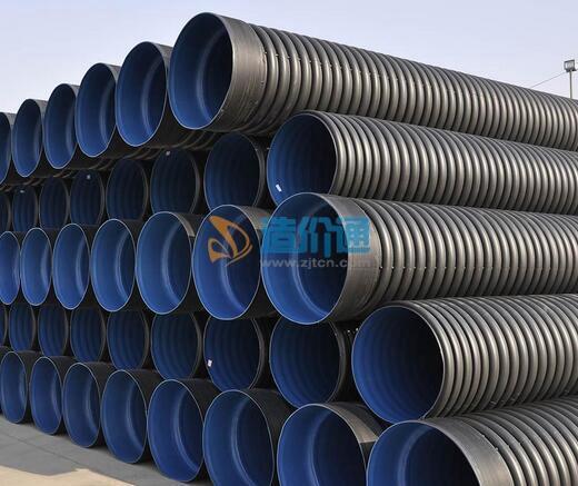 聚氯乙烯无压埋地式排污管材图片