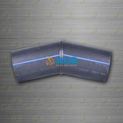 焊制对接22.5度弯头图片