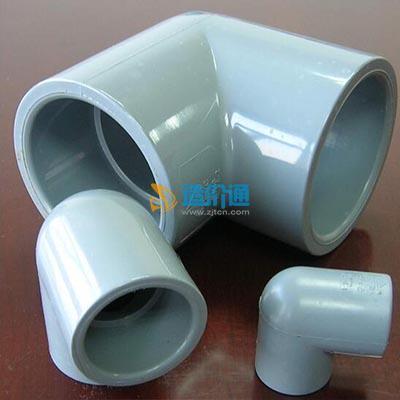 PVC-U90°坐厕接(弯)头图片