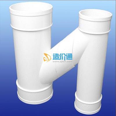 PVC-U丝扣消音管件H管件图片