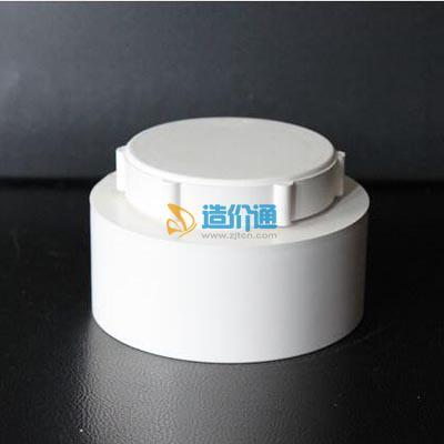 PVC排水检查口图片