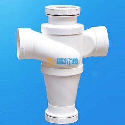 W型柔性机制铸铁管管件-立管检查口图片