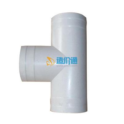 PE给水注塑热路承播管件-异径三通图片