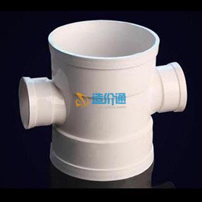 PVC-U顺水四通图片