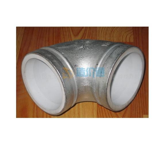 PE环保钢塑复合45°弯头图片