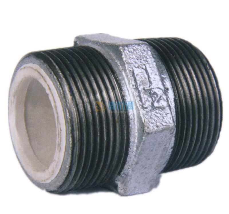 PVC-U铜内丝异径直接头图片