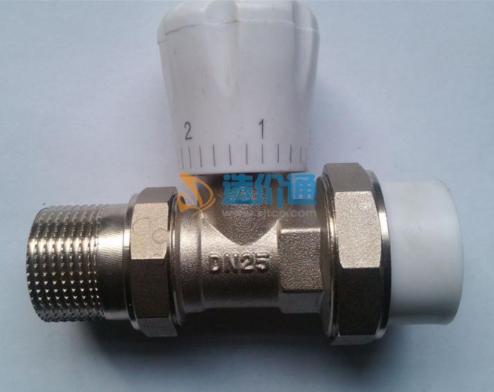 角式温控手动调节阀图片