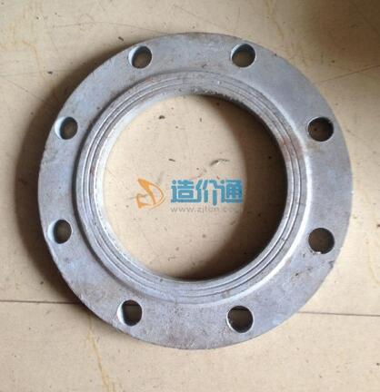 铸铁纯国标平焊法兰图片