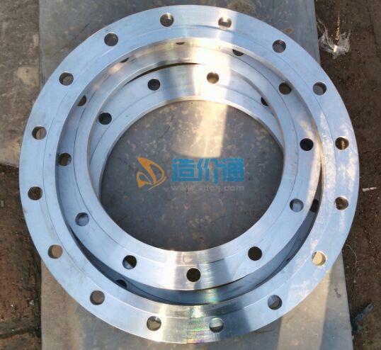 铝合金衬塑管材PE-RT法兰(盘+芯)图片