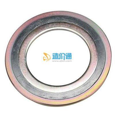 304白钢外环金属缠绕垫片图片