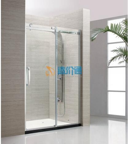 钻石型淋浴房门图片