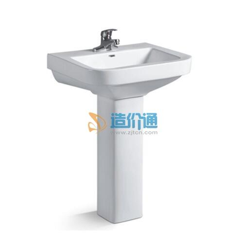 卫浴立柱盆-荷花055图片