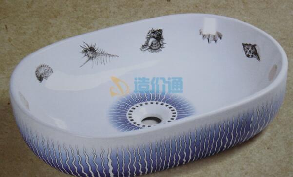 豪系列立体洗手盆图片