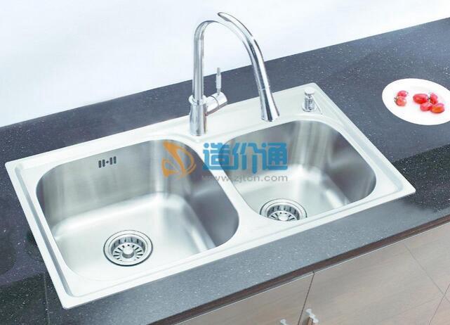 不锈钢水槽(单槽)图片