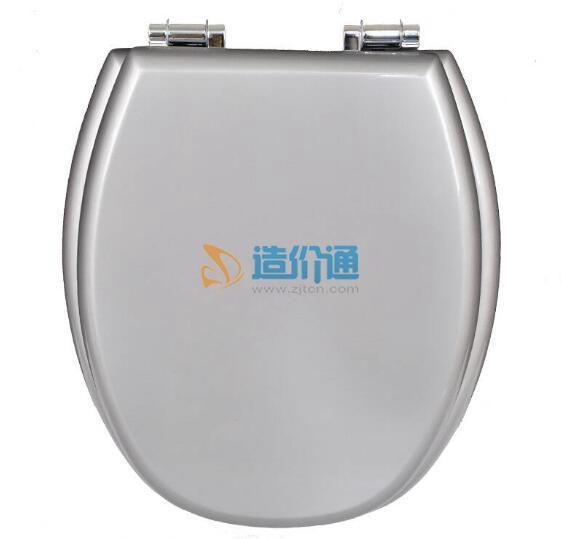 法弧型抗菌座便器盖板图片