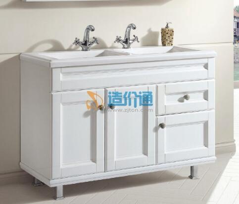 陶比浴室柜-竹木纹图片