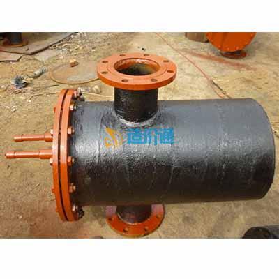 PE燃气注塑热熔对接管件-凝水缸图片