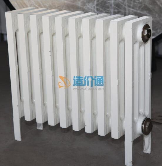 内腔无砂铸铁散热器——圆管三柱745型图片