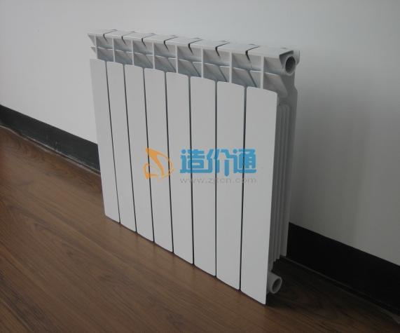 整体高压铸铝散热器图片