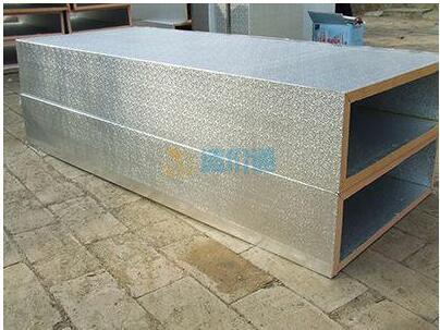 聚苯铝箔复合风管图片