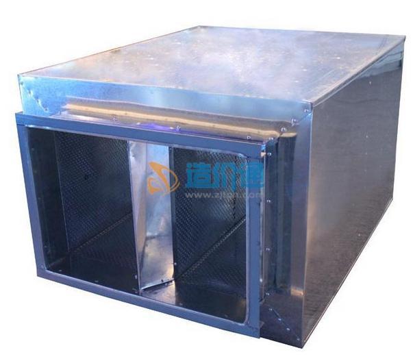 排风口(含静压箱430X430X350,中效过滤器209X209X96)430×430图片