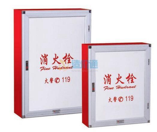 乙型双栓组合式消火栓箱图片