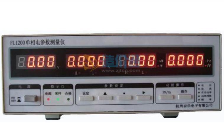 单相电参数仪表图片