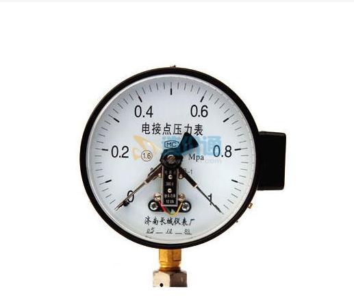 耐温压力表图片