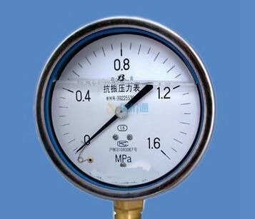 抗震压力表图片