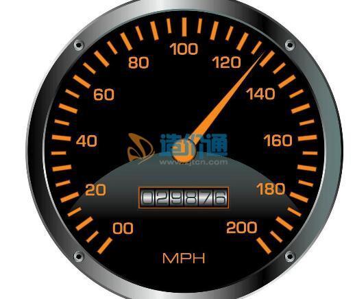 线速表图片