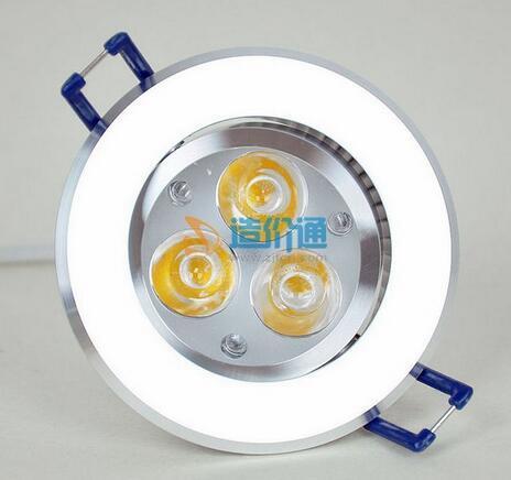 LED纯铝天花灯图片