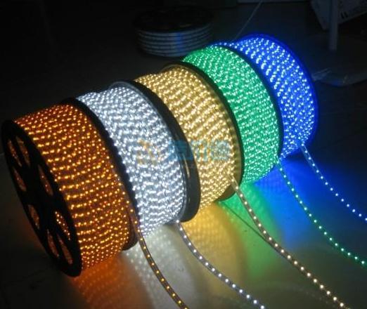 扁五线LED彩虹管图片