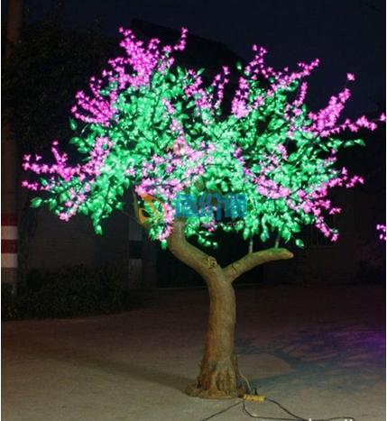 LED仿真枫叶树图片