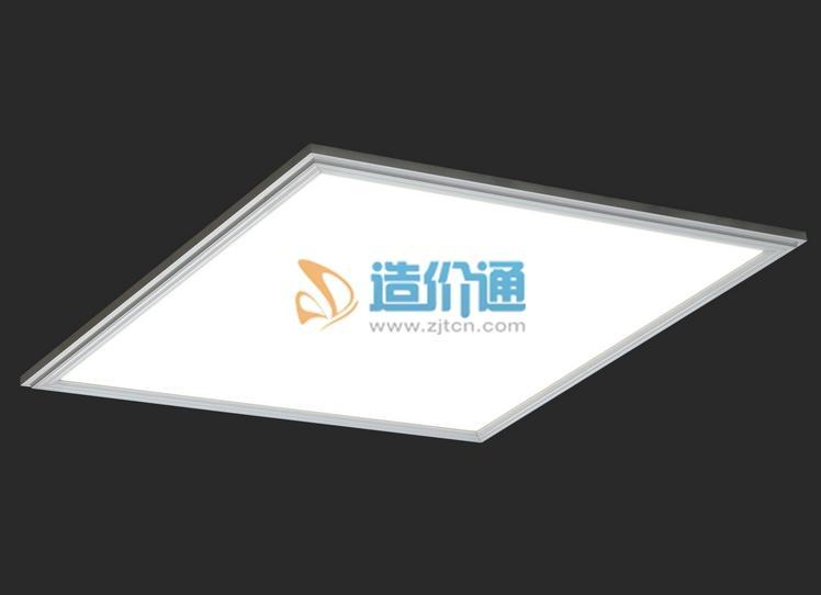 LED圆形玻璃面板灯图片