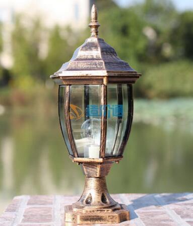 欧式园林灯图片
