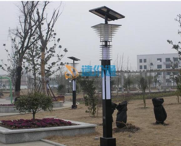 路灯和太阳能路灯图片