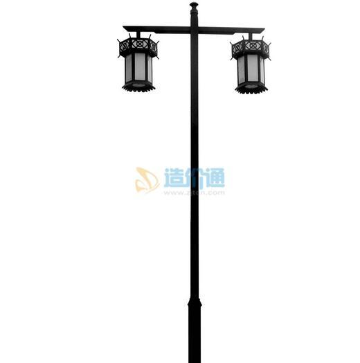 庭院灯一体式节能灯(60W)图片