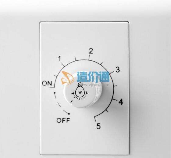 一位调光带双开关带二极及三极插座图片