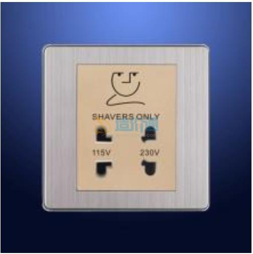胡须插座(内附变压器及过滤保护)图片