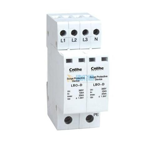 网络线路安防监控组合电涌保护器图片