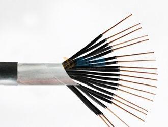 铜芯氟塑料钢带铠装绝缘聚氯乙烯护套屏蔽控制电缆KFVP2210×6图片
