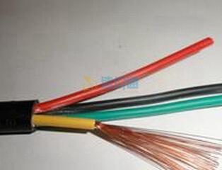 铜芯聚氯乙烯绝缘聚氯乙烯护套屏蔽拖链电缆图片
